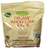 Rapunzel Whole Rapadura Unbleached Unrefined Organic Sugar (2x24oz)