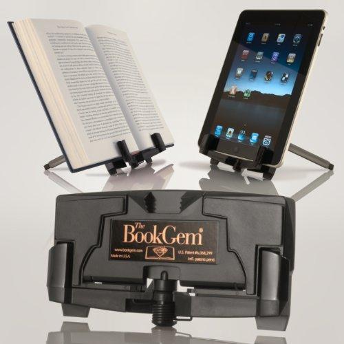 Bookgem Book Holder - iPad Stand, Kindle, Tablet, & eBook Holder