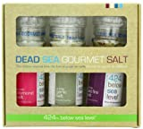 Salt 424 Three Grinder Pack 100% Organic Salts, Diamond, Garlic and Wild Fire, 25.11 Ounce