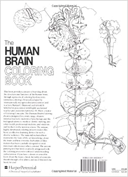 The Human Brain Coloring Book (Cos, 306): 9780064603065