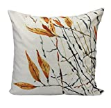 Usstore 1PC Pillow Case Letter Flax Cover Pillowslip Distinctive Home Decor (I) review
