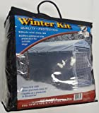 Lucky Dog Windscreen-Shade Kit for Sides of Dog Kennel., 57-Inch Wide by 24-Feet Long