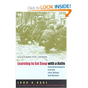 Learning to Eat Soup with a Knife: Counterinsurgency Lessons from Malaya and Vietnam