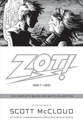"""Cover of """"Zot!: The Complete Black and Wh..."""