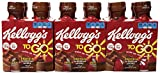 Kellogg's Breakfast to go Shake, Milk Chocolate, 10 oz., 4-Count (Pack of 6)