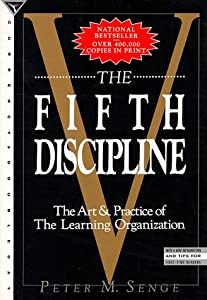 """Cover of """"The Fifth Discipline: The Art &..."""