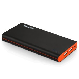 EasyAcc 10000mAh Ultra Slim Dual USB Portable Power Bank