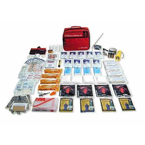 Lifeline LF-04234 Family Disaster Kit (145 Pieces)