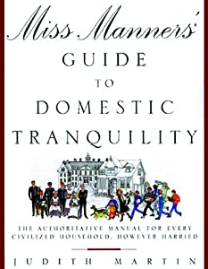 "Cover of ""Miss Manners' Guide to Domestic..."