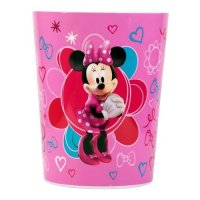 Disney Minnie Mouse Plastic Trash Can Wastebasket Kids ...