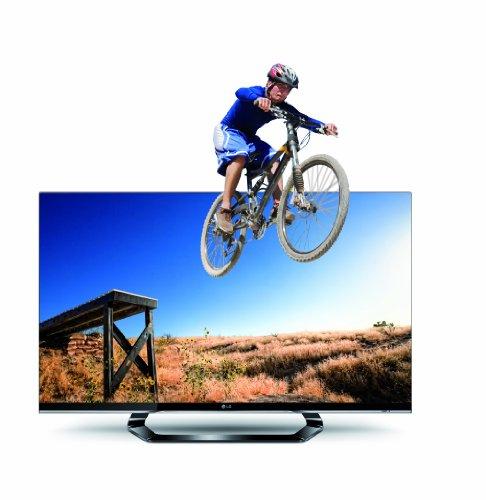 LG 42LM660S 107 cm (42 Zoll) Cinema 3D LED Plus Backlight-Fernseher, Energieeffizienzklasse A+ (Full-HD, 400Hz MCI, DVB-T/C/S2, Smart TV) schwarz