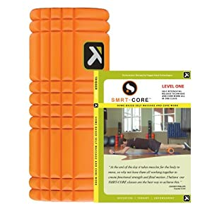 Trigger Point Performance The Grid Revolutionary Foam Roller with SMRT-CORE Level 1 DVD