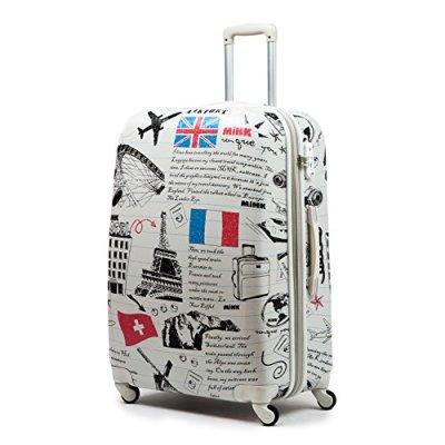 Jipin Spinner Expandable TSA Lock 3 Piece Luggage Set