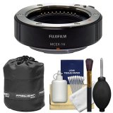 Fujifilm-MCEX-16-Macro-Extension-Tube-with-Lens-Pouch-Cleaning-Kit-for-X-A2-X-E1-X-E2-X-M1-X-T1-X-T10-X-Pro1-Camera