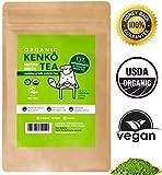 Kenko Matcha Green Tea Powder [USDA Organic] Culinary Grade Matcha Powder for Lattes, Smoothies and Baking [100g Bag = 50 Servings]