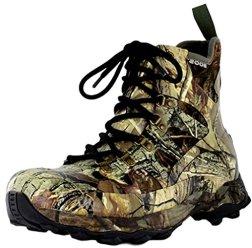 Bogs Men's Eagle Cap Waterproof Hunting Boot,Real Tree,10 M US