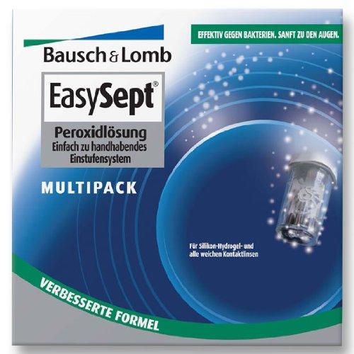 Bausch & Lomb Easysept Pflegemittel für weiche Kontaktlinsen, Multipack 2x 360 ml