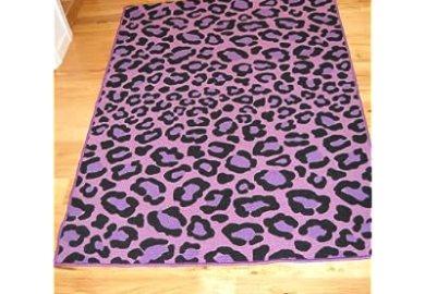 Animal Print Bedroom Rugs
