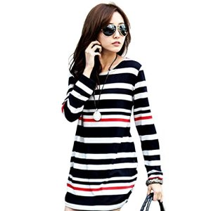 Soly-Tech-Women-Maternity-Long-Sleeve-Stripe-Top-Blouse-Shirt-for-Pregnancy
