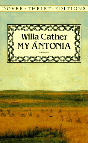 "Cover of ""My Ántonia (Dover Thrift Editio..."