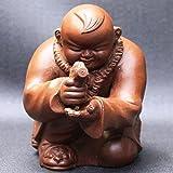 宜興焼 茶玩具「ピストル小僧」