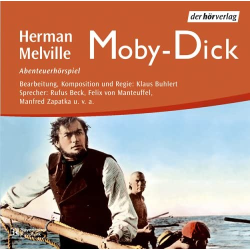 Cover Herman Melville, Moby-Dick, Abenteuerhörspiel Der Hörverlag 2002