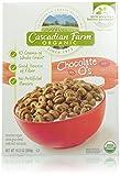 Cascadian Farm Cereal Organic Cereal, Chocolate O's, 10.2 Ounce