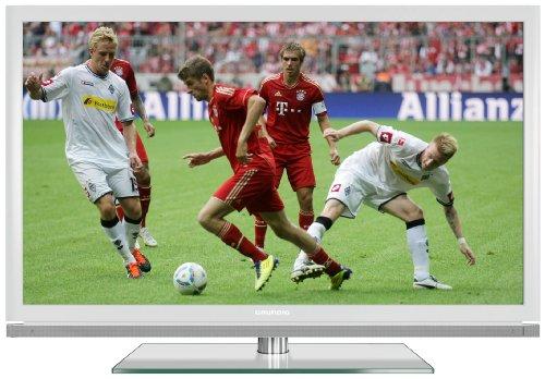 Grundig 40 VLE 8160 WL 102 cm (40 Zoll) 3D LED-Backlight-Fernseher, Energieeffizienzklasse A (Full-HD, DVB-T/C/S2) weiß