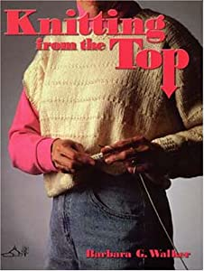 La copertina di Knitting from the Top