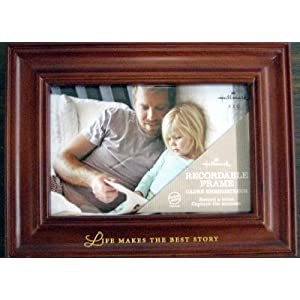 Hallmark Frames FRT1013 Life Makes the Best Story 4 X 6 Recordable Frame