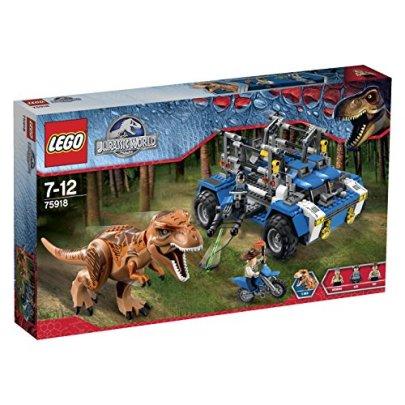 レゴ ジュラシックワールド T-レックスの追跡 75918
