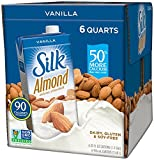 Silk Pure Almond Vanilla, 32-Ounce (Pack of 6)