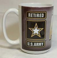 Amazon.com: Retired United States Army Oversized 15 oz ...