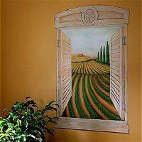 Tuscan Wall Murals   Car Interior Design
