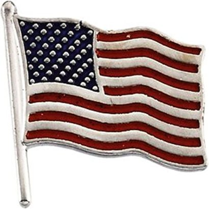 American-Flag-Lapel-Pin-in-14k-White-Gold
