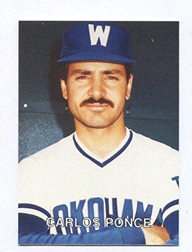Carlos Ponce - 1987 Play Ball Japan - 来日外国人(横浜大洋) カルロス・ポンセ