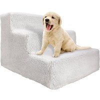 OxGord Steps Pet Stairs to get on High Bed for Cat and Dog ...