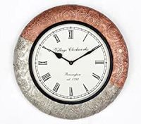 Buy Universal Art Traditional Wall clock with Copper and ...