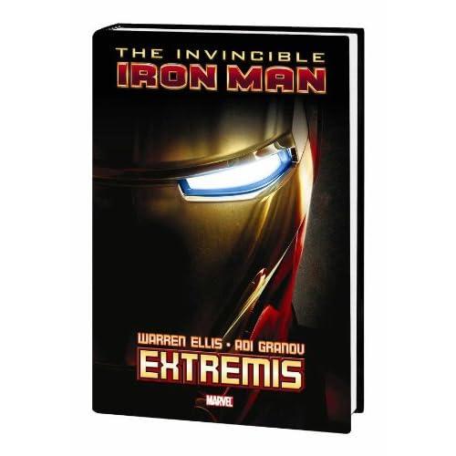 reading Iron Man comics