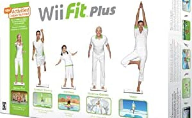 Amazon Wii Fit Plus With Balance Board Video Games