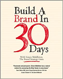 Book cover - Build a Brand in 30 Days