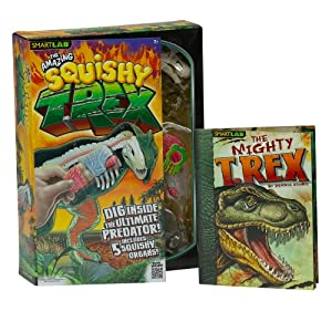 SmartLab Toys The Amazing Squishy T. Rex, Multi Color
