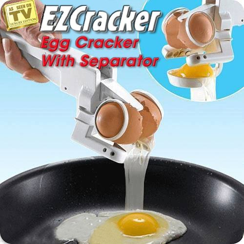 Unique Gadget Handheld Egg Cracker