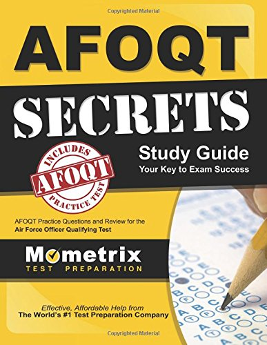 1630949957 - AFOQT Secrets Study Guide: AFOQT Test Review for the Air Force Officer Qualifying Test