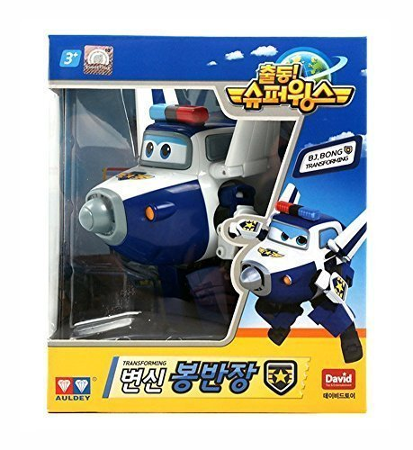 BJ.BONG (PAUL) – Super Wings Transforming planes series animation Character Ship from Korea