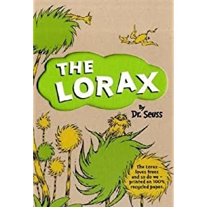 The Lorax - classic children's book by Dr Seuss