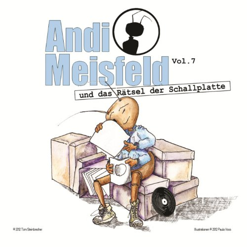 Andi Meisfeld (7) und das Rätsel der Schallplatte (Steinbrecher Entertainment)