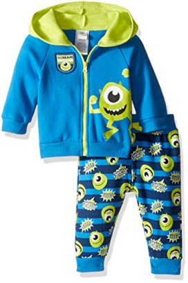 Disney-Baby-Boys-2-Piece-Mike-from-Monsters-Inc-Hoodie-and-Printed-Jogger-Set-Blue-36-Months