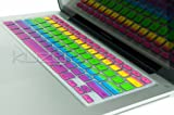 Kuzy - Rainbow Keyboard Silicone Cover Skin for MacBook Pro 13
