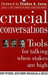 "Cover of ""Crucial Conversations: Tools fo..."